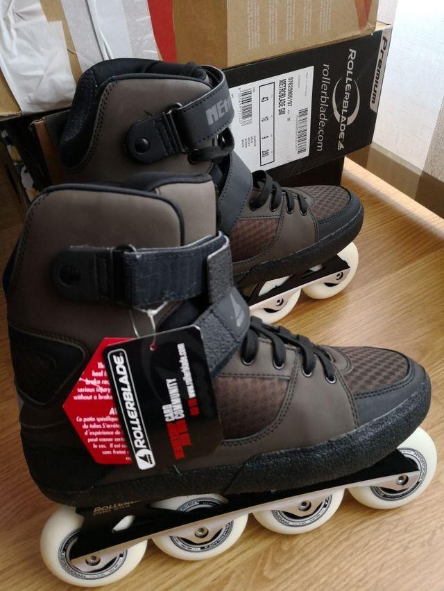 patines rollerblade metroblade de segunda mano por 275 en