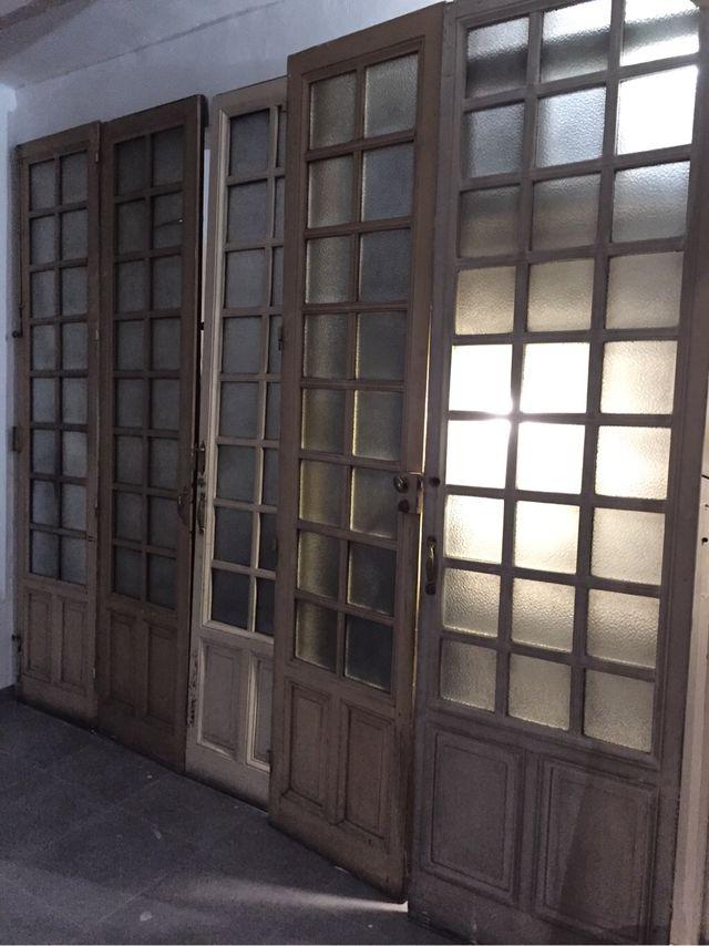 puertas antiguas de madera de segunda mano por 300 en