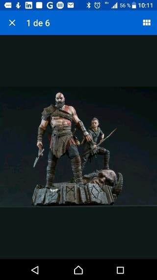ESTATUA/DIOREMA GOD OF WAR LIMITADA A 750 UND