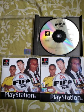 fifa 2003 ps1 , psx , ps one