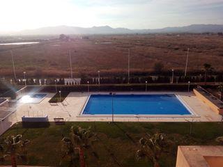Apartamento playa Almarda, prox Canet. Piscina/Gar