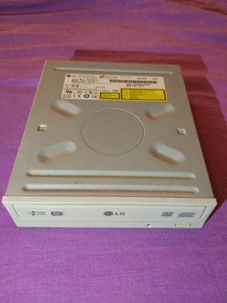 Regrabadora IDE dvd marca LG