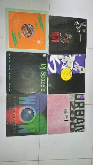 lote 100 discos vinilo italodance 90s cantaditas