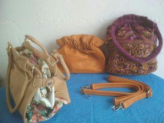 3 bolsos nuevos