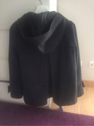 Abrigo gris mujer Zara