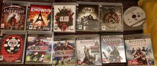 12 juegos Playstation Ps3