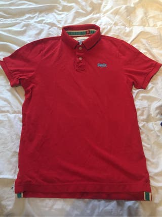 Polo Superdry color Rojo