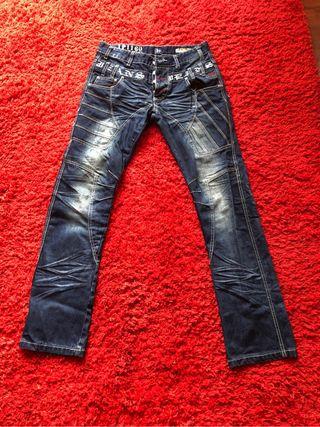 Pantalon Vaquero Japrag Hombre - Talla 31