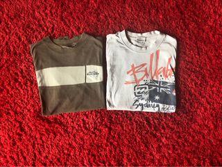 Camisetas... BILLABONG Y MOON WAVE
