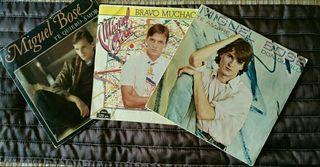 3 singles de Miguel Bose