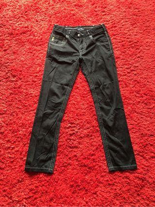 Pantalón Negro Armani Jeans - Hombre Talla 32