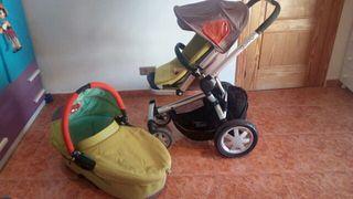 Capazo más silleta bebé marca Quinny