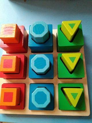Juego de madera Montessori