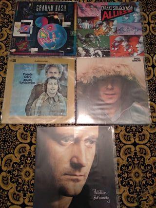 Vinilo LP Simon Garfunkel Phil Collins Stills Nash