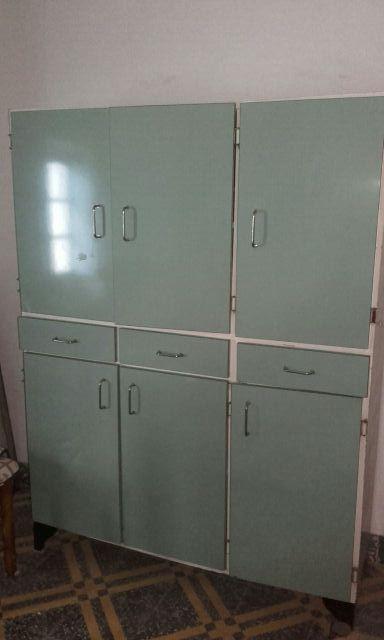 Mueble cocina vintage de segunda mano por 35 € en Albuixech en WALLAPOP