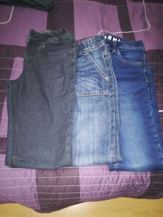lote pantalones Vaquero niño