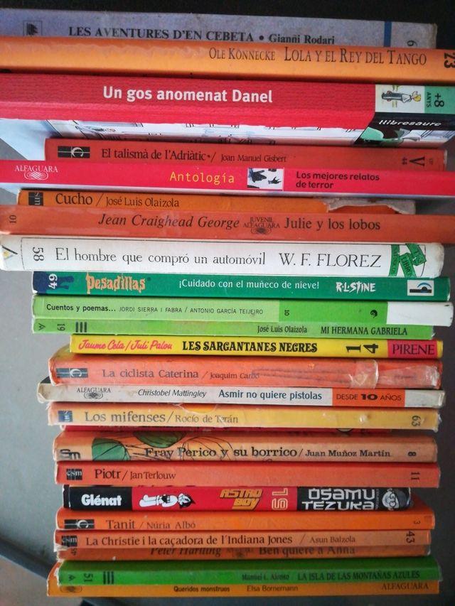 libros de lectura infantil y juvenil