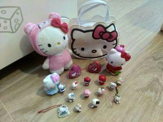 Muñecos, peluche, bolsito, etc de Hello Kitty
