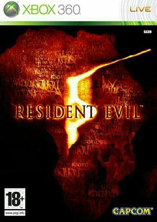 Xbox 360 Resident Evil 5