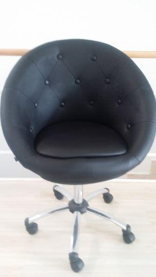 sillas oficina cuero