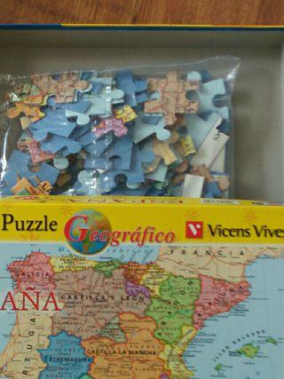 Puzzle Geográfico España
