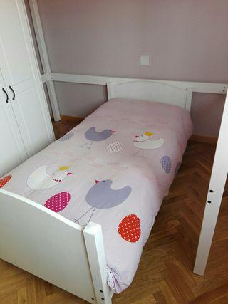 Cama extensible Infantil+ colchón Flex