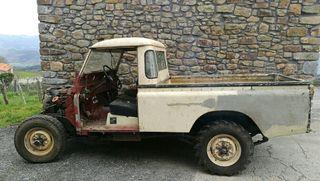 Land Rover 109 largo 3 puertas 84 motor 5 apoyos
