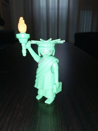 Playmobil Figures Serie 3 Estatua libertad verde
