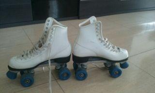 patines bota