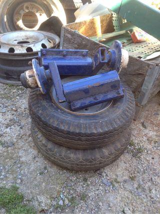 Suspension y ruedas