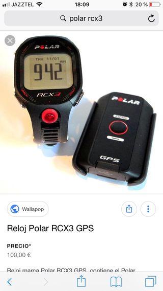 Polar rcx3 con gps