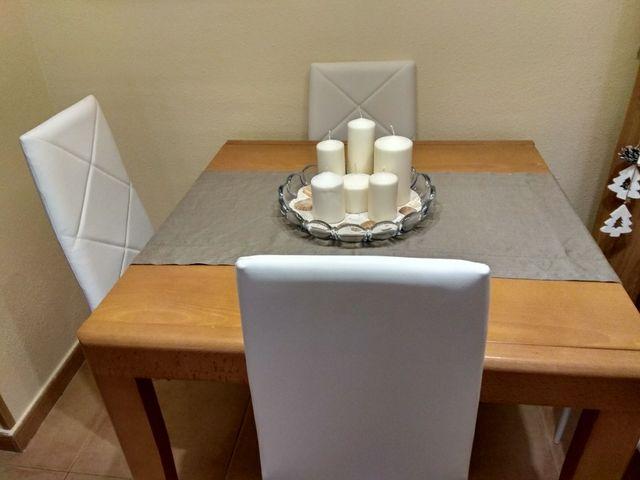 Mesa comedor roble moderna de segunda mano por 50 € en San Martin en ...
