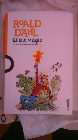 "Libro ""El dit magic"""