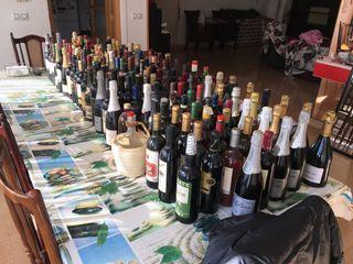 Muchas botellas