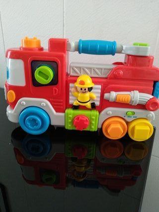 Camion bomberos juguete