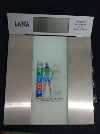 báscula bioimpedancia Laica