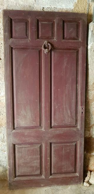 puertas de madera antiguas de segunda mano en la provincia