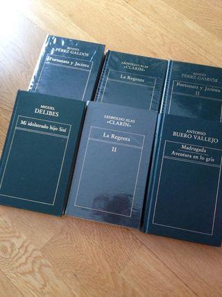 colección de 100 libros de literatura universal