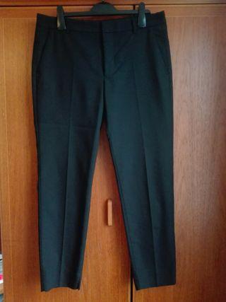 Women black suit trousers, from Zara, size L