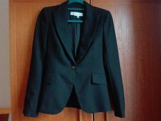 Women black blazer from Zara, size EUR 36