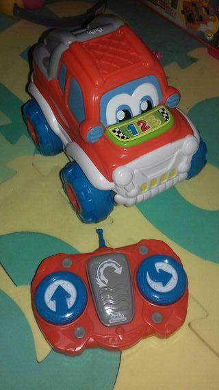 coche rc clementoni