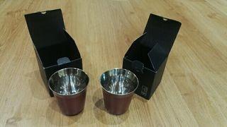 dos tazas Nespresso Pixie.