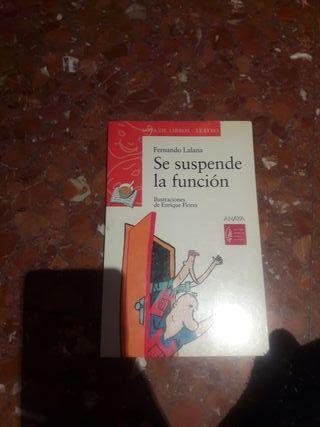libri : se suspende la función
