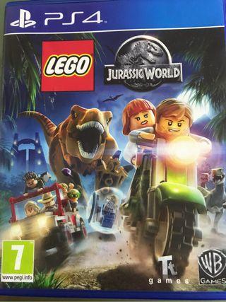 "Juego ps4 ""LEGO JURASSIC WORLD"""