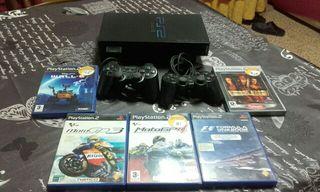 Playstation PS2 + Mandos