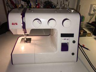 Máquina de coser Alfa next 40 + transportin origin