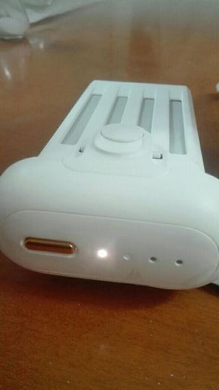 placa base y bateria del dron xiaomi 4K cada cosa