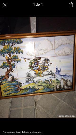 Azulejos antiguos talavara