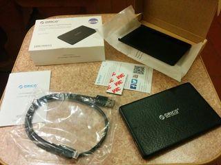 Caja para disco duro SSD