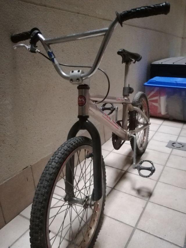 Bicicleta bmx monty con cuadro de titanio de segunda mano por 220 ...